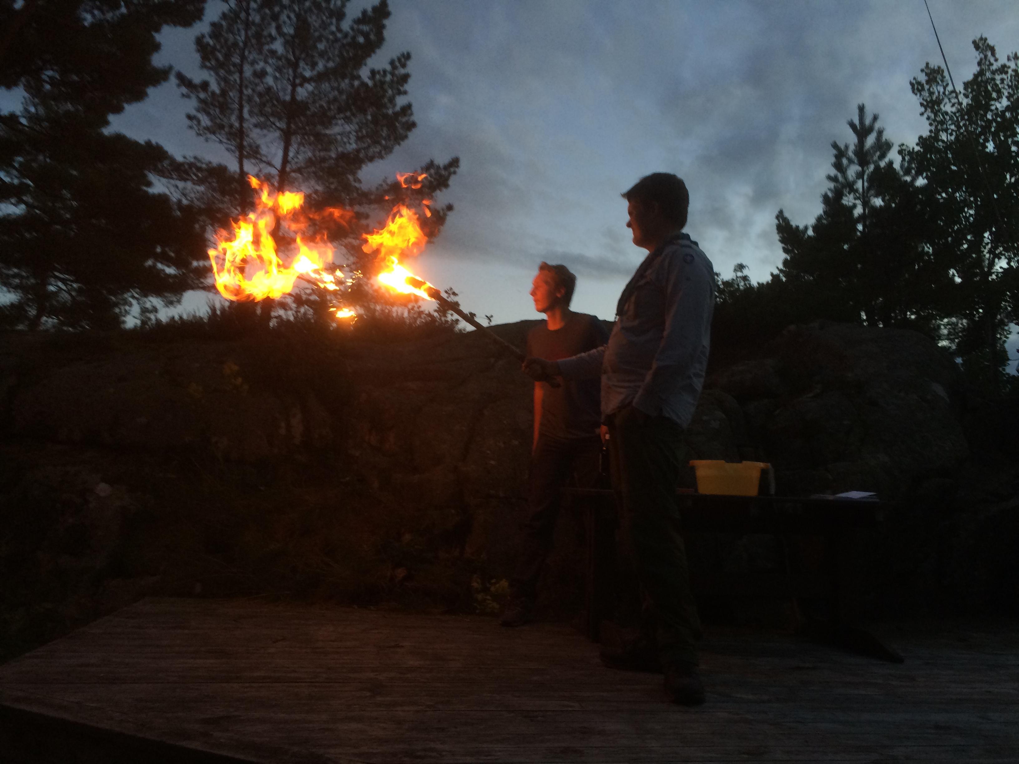 Flammeblåsing